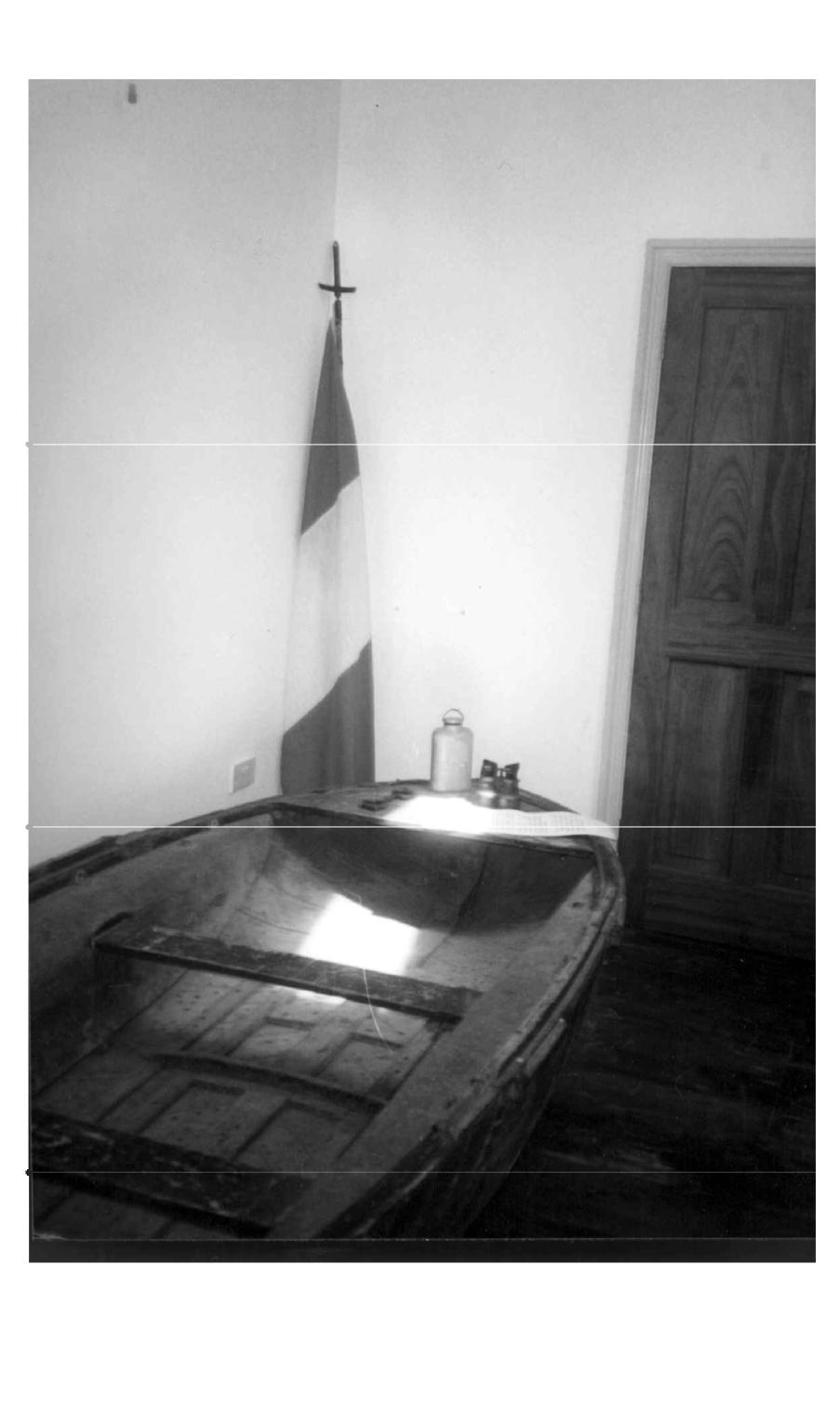 Casement boat in North Kerry Museum, Rattoo Heritage Centre, Kerry.